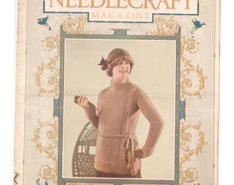 January 1924 NEEDLECRAFT Magazine, 36 Pages