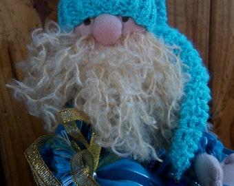 GNOME CHRISTMAS Christmas Decor  Elf Gnome plush toy  Cute handmade gnome / elf softie plush toy)Christmas ornament Kindness elves doll