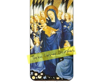 Fine art iPhone 6 printable case design (Wilton diptych 1395 – 1399); DIY print at home iPhone accessories for 6 or 6S