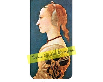 Fine art iPhone 6/6S case design (Italian Renaissance, Portrait of a Lady in Yellow, by Alesso Baldovinetti, around 1465)