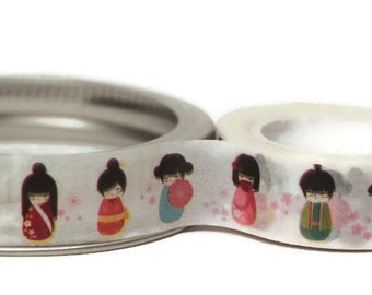 Japanese Washi Tape. 15mm x 10m.