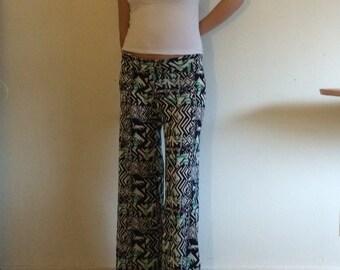Boho , wide leg pants