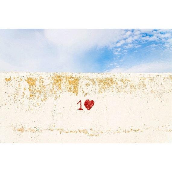 1 LOVE. Valentines Print, Love heart, Love Print, Emotion Art, Photographic Print, Wall Art.