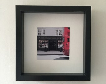 The Oxford University Shop, Oxford, The High, framed photograph, colour, original, student memories