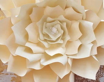 Giant Paper Flower for newborn photography Prop
