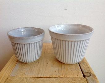 vintage, retro planters, cactus pot, mid century pots, Dutch pottery, Westraven