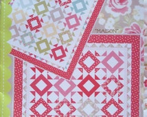Kiss Me quilt pattern by Fig Tree & Co.