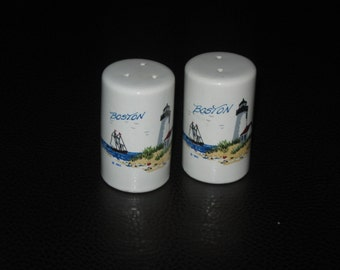 Boston Salt and Pepper Shaker Set