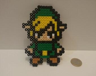Zelda Sprite, Nintendo, Snes, hama bead wall decor, The legend of Zelda, Link Bead