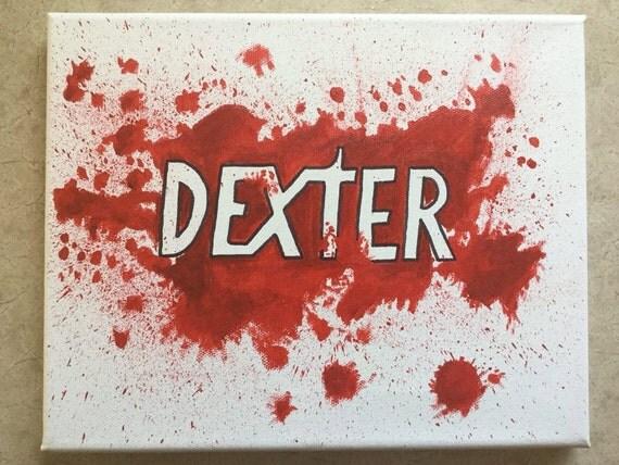 dexter blood splatter poster - photo #14