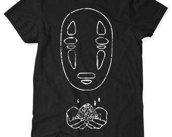 Spirited Away No Face TShirt - Black