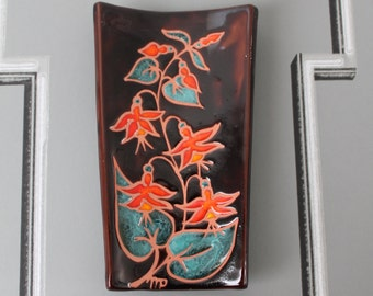 Signed by P. AZEMA - 1970' - ceramic and pottery - vintage ceramic - kitchen decoration -