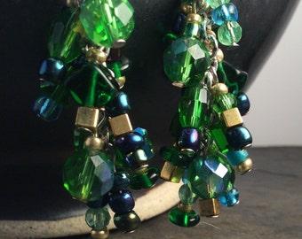 cluster fun earrings - free shipping