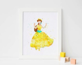 Anastasia Watercolor, Art Print, anastasia romanov Poster Wall Art, Nursery Decor, Watercolor Print, Princess Poster nursery prints girl