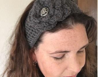 Flower Headband - Handmade Crochet