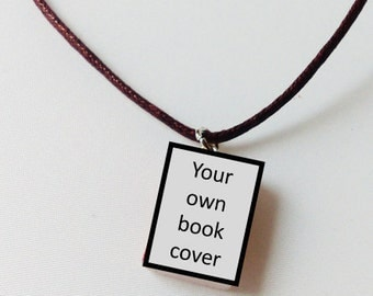 Personalized / custom book necklace