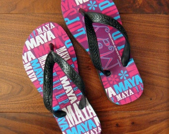 Personalised Flip Flops for Children