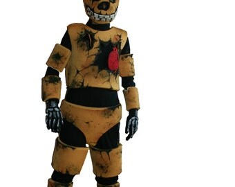 Five nights at Freddy's fnaf Springtrap costume spring bonnie