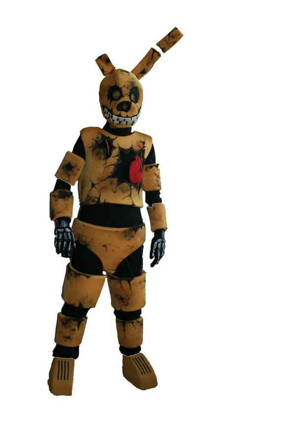 Cinq Nuits 224 Fnaf Springtrap Costume Golden Freddy Bonnie