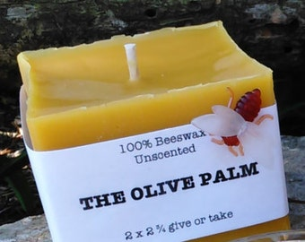 Pillar Candle ~ 100% Beeswax, Naturally Air Purifying