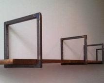Small Industrial Style Steel Brackets