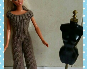Barbie wide leg jumpsuit handmade design ( 24)