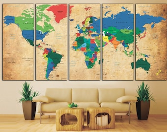 World map decor davidterrenoire world map decor gumiabroncs Image collections