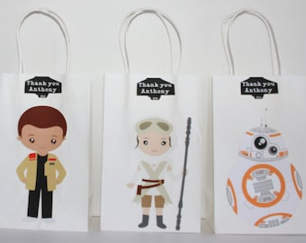 Star Wars Party Favor Bags