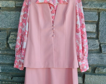 1970 pink suit