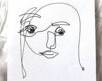 Blind Contour | Ilustration | ORIGINAL