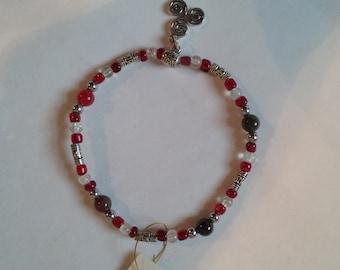 Red Celtic Bracelet