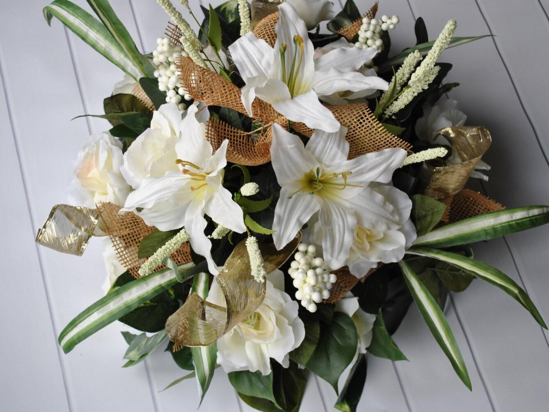 SALE Wedding Centerpiece Wreath Elegant Table Centerpiece