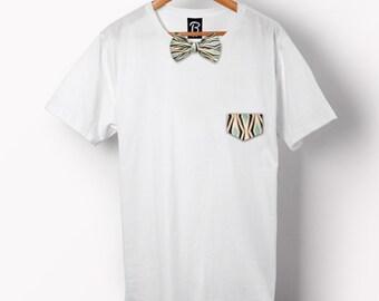 The Kaleidoscope Bowtee - Bow Tie T-Shirt