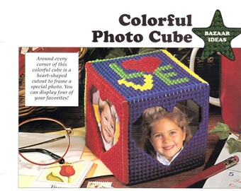 Colorful Photo Cube