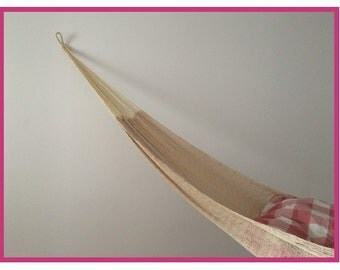 Hammock 1-2 person cotton handmade from Mexico nature