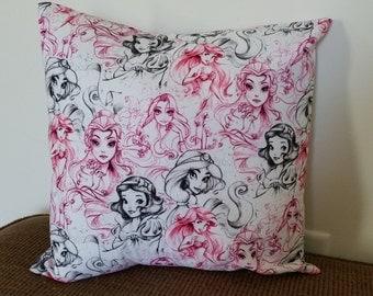 Princess Pillow Case (B)