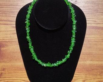 Necklace / Bracelet Quartz Green