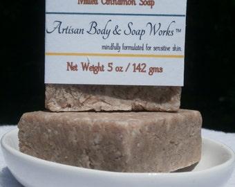 Milled Cinnamon Soap, 5 ounces