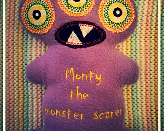 Personalised Monster Softie