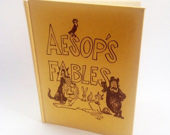 Vintage Aesops Fables book