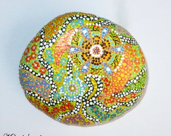Fantasy Hand Painted Stone