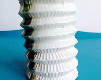 Porcelain Lantern Sculpture Light Handmade