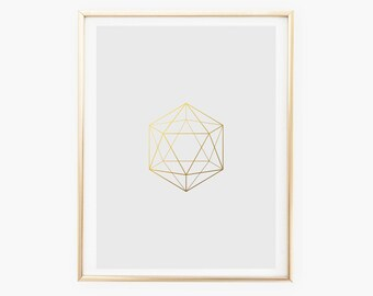 Geometric,Art, Poster, Printable Art, Prints, Wall Art, Home Decor, Wall Art Prints, Modern Wall Art, Digital Art, Instant download, Gold.