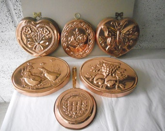 Copper Hanging Molds