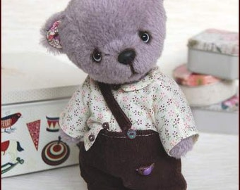 Tim. Artist teddy bear