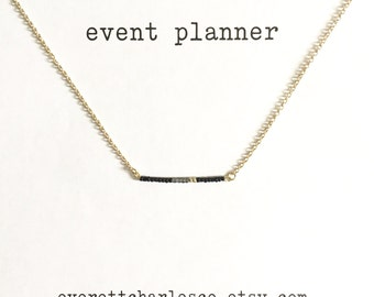 Event Planner Necklace