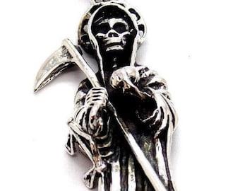 Santisima Muerte - Holy Death .925 Sterling Silver