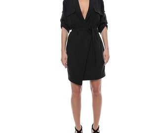 Statement mini blazer dress
