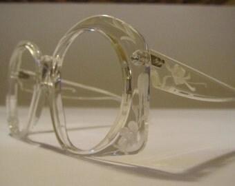 Great vintage oversize eyeglasses frame 1 frame B 001 54 16 Gala Germany Jo Ann Santangelo 135 years 70/80