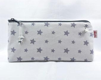 Spring spring pockets star pencil case